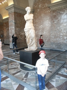 We went to the Louvre, but went early, saw what we wanted to see then left