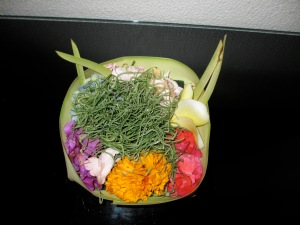 Hindu offering from a Balinese market