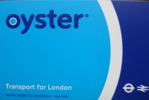 The Oystercard looks like a credit card and is rechargeable for maximum convenience