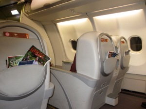 My biggest surprise of 2012 - Garuda Business Class