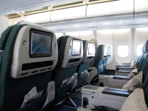 Premium Economy - for me the only Premium part was the price