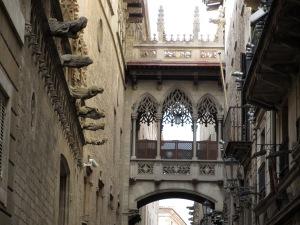 The Barre Gotic, Barcelona, October, 2012