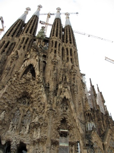 Spires and a facade that appears to drip like a candle - who could imagine?