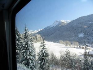 Riding the rails in Switzerland