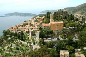 Eze - much easier to visit by bus from Nice than anywhere else