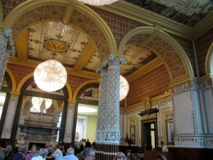 Even the cafe at the Victoria & Albert Museum is a work of art