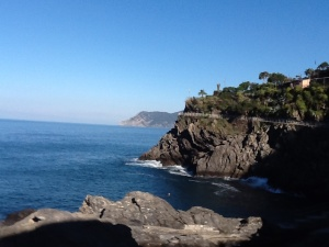 I woke up this morning in beautiful Manarola in the Cinque Terre!