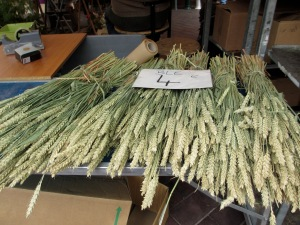 A first for me - wheat sheaves for sale