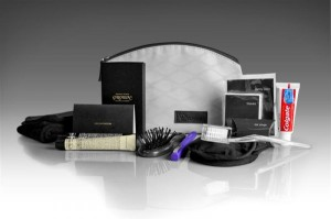 Airline amenity kits are a great source of traveling liquids Credit:  blog.virginaustralia.com