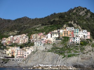 Our return to Manarola by ferry - more stunning views to end a stunning day!