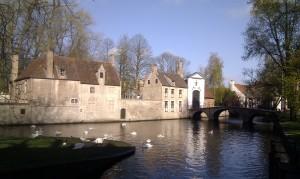 Romantic Bruges, Belgium