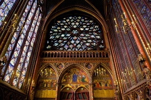 The divine Ste Chapelle Photo credit: wikepedia commons