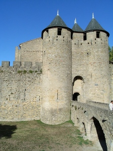 The ramparts at Carcassone Photo: frugalfirstclasstravel