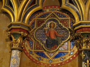 Detail of the stunning jewel-like Ste Chapelle