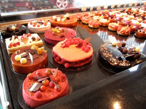 Just some of the luscious choices at L'Atelier d'Eric