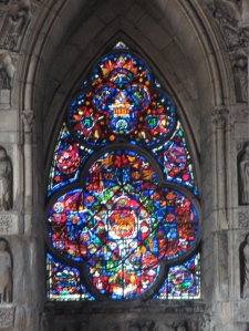 Just one of the magnificent cathedral windows