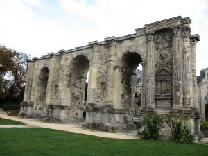 Originally there were four Roman gates in Reims, but this is the sole survivor