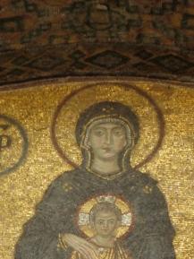 Mosaics in Aya Sophia
