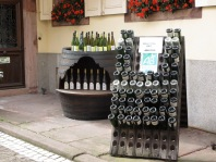 Wine tasting and wine bottles in Alsace, France, travel, travel planning, travel tips