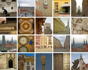 multiple photos of Olomouc