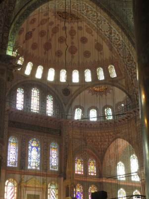 Domes, arches and windows - beautiful architecture in harmony