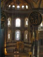 windows in Hagia Sophia