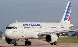 Air France A320 on the ground