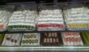 trays of multicoloured Turkish delight