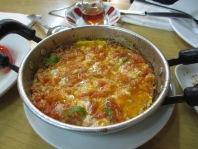 plate of menemen
