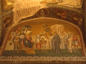 byzantine mosaics in Chora Church
