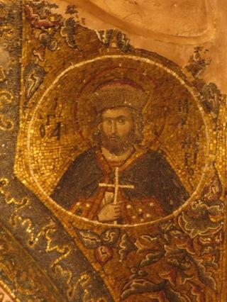 byzantine mosaic in chora church