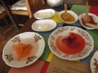 dishes of Turkish preserves