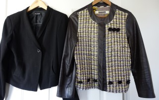 Easton Pearson beaded leather jacket