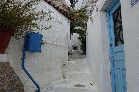 laneway Anafiotika
