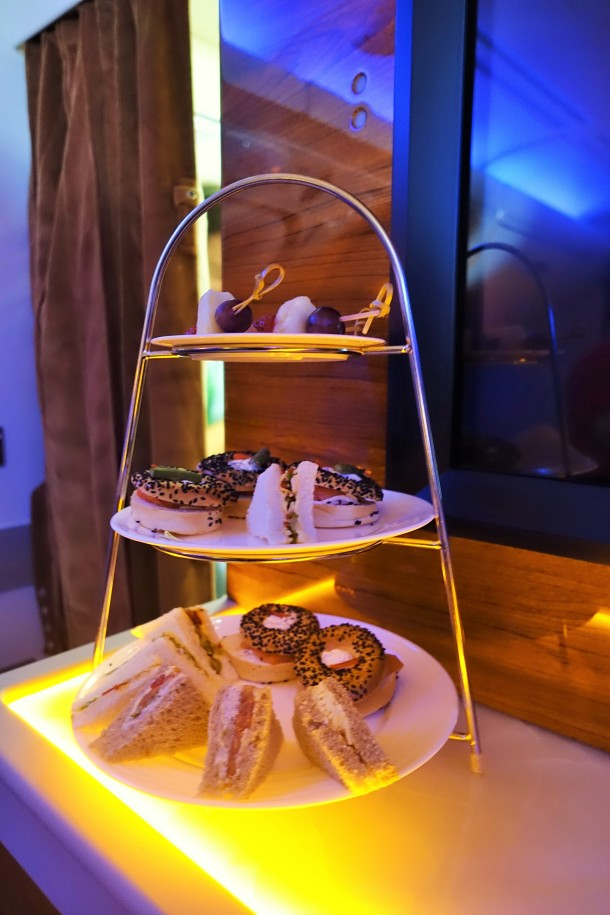 3 tier cake stand on Emirates A30