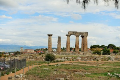 Ruins in Corinth, Greece