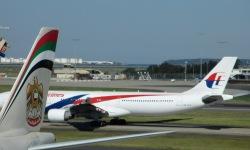 Malaysian Airline and British Airways plane