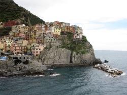 Manarola village in the Cinque Terre