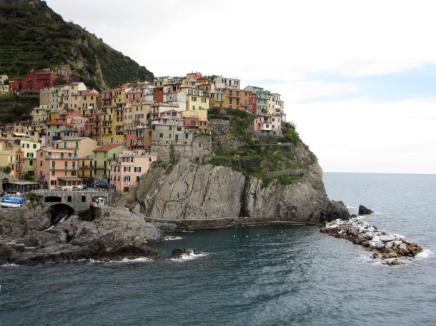 Manarola village in the Cinque Terre