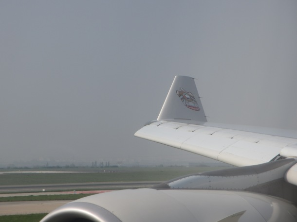 airline wingtip