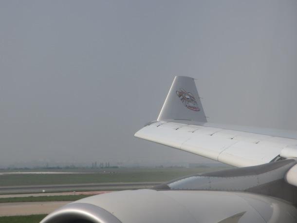 airline wingtip