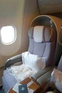 Emirates Business Class A330 short haul seat