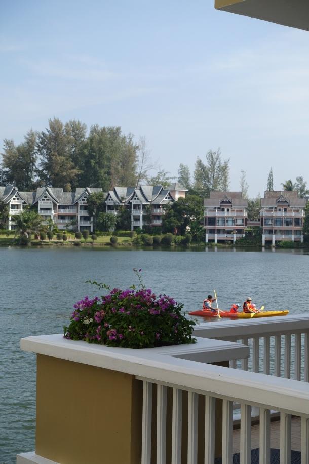 lagoon view of Angsana Laguna Resort Phuket Thailand