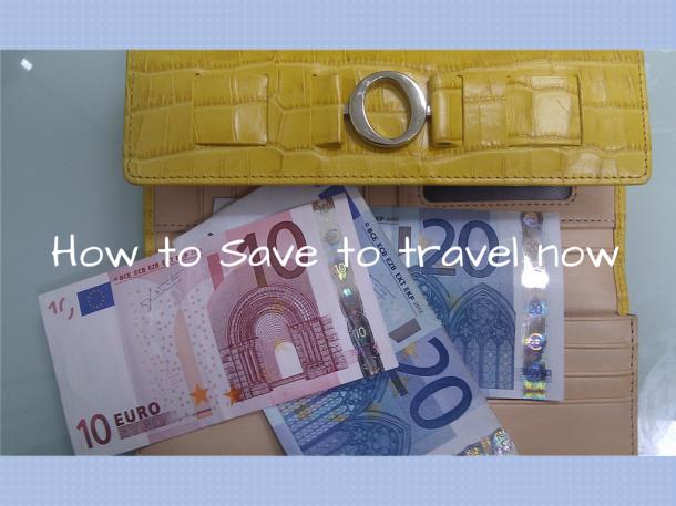 yellow oroton wallet with Euro notes